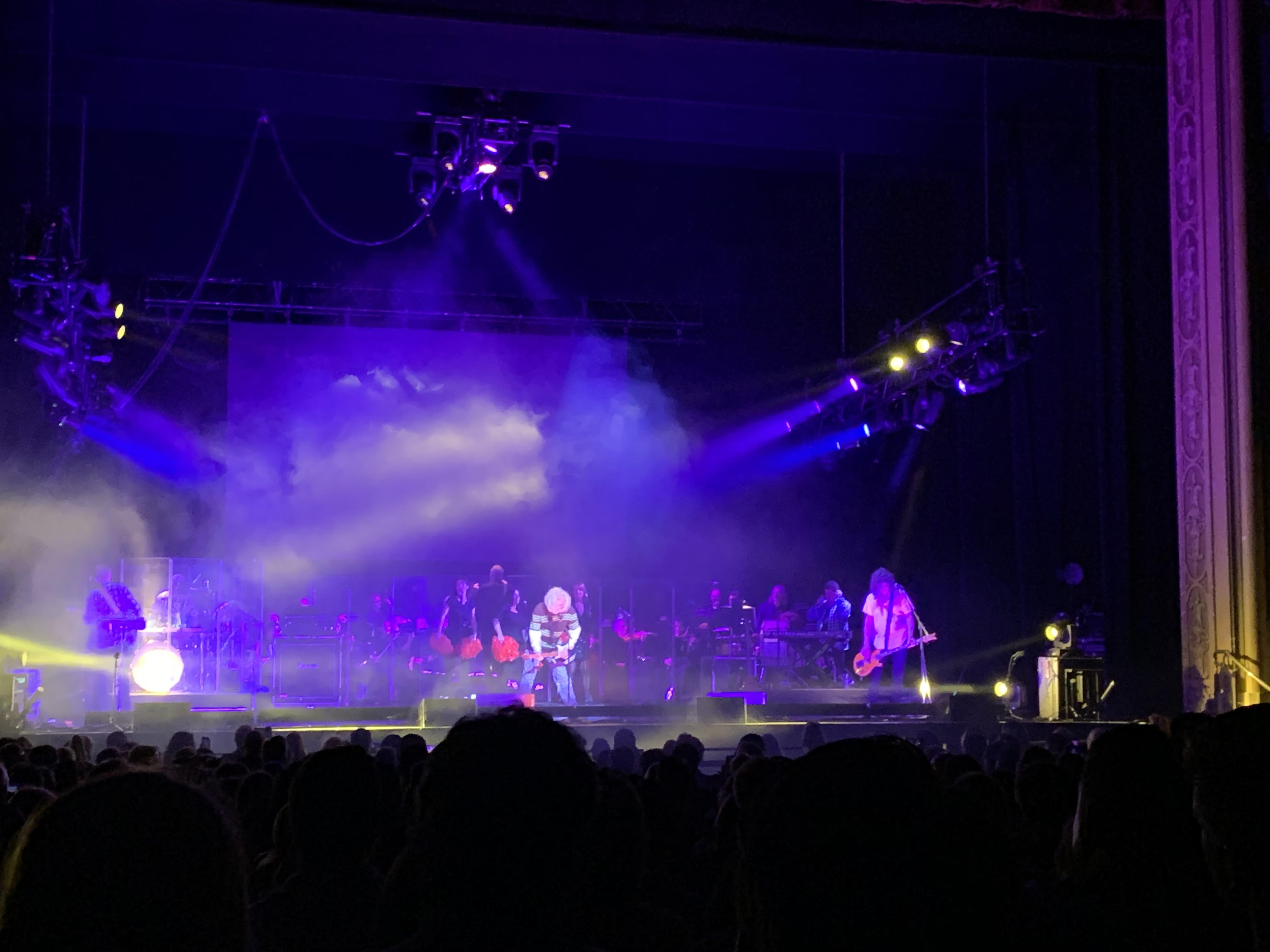 Al onstage dressed as Kurt Cobain